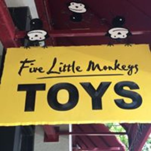 Five Little Monkeys, Novato, CA logo