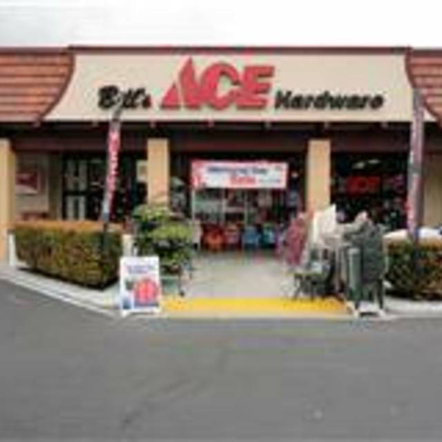 Bill's Ace Harware Locations, Concord, CA logo