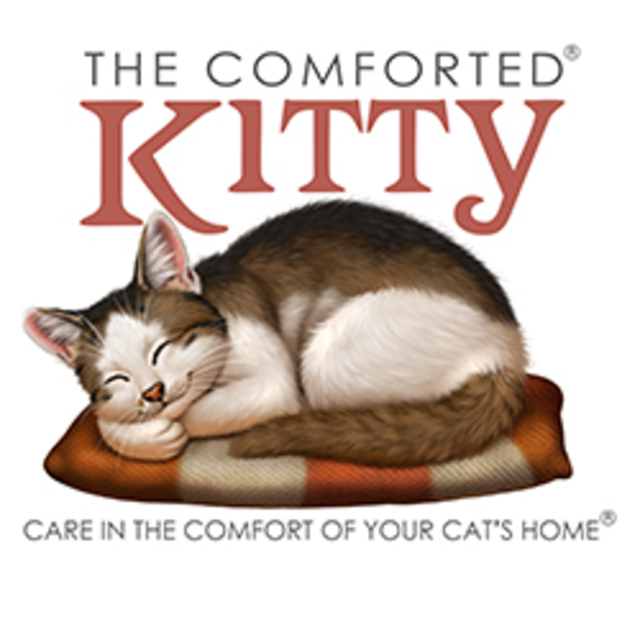 The Comforted Kitty, Richmond, California logo