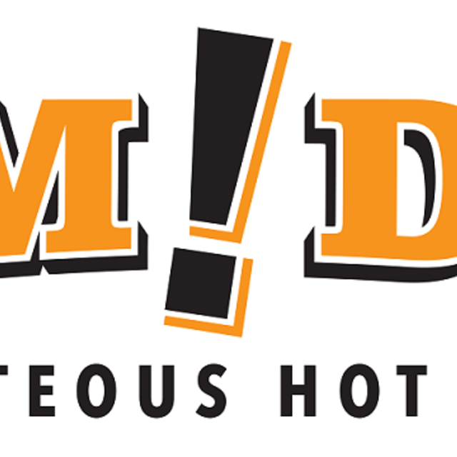 Bam!Dog Righteous Hot Dogs, Reno, NV logo