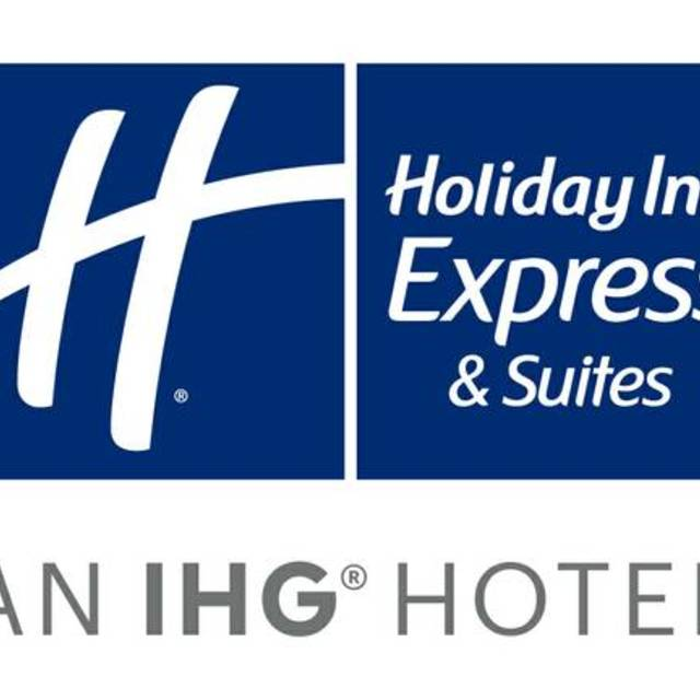The Holiday Inn Express & Suites Hotel in Morgan Hill, Saratoga, CA logo