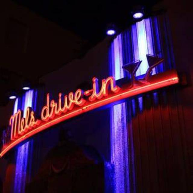 Mels Drive-in, San Francisco, CA logo