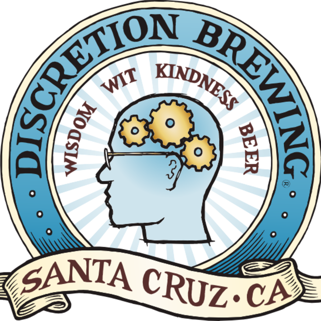 Discretion Brewing, Soquel, CA logo