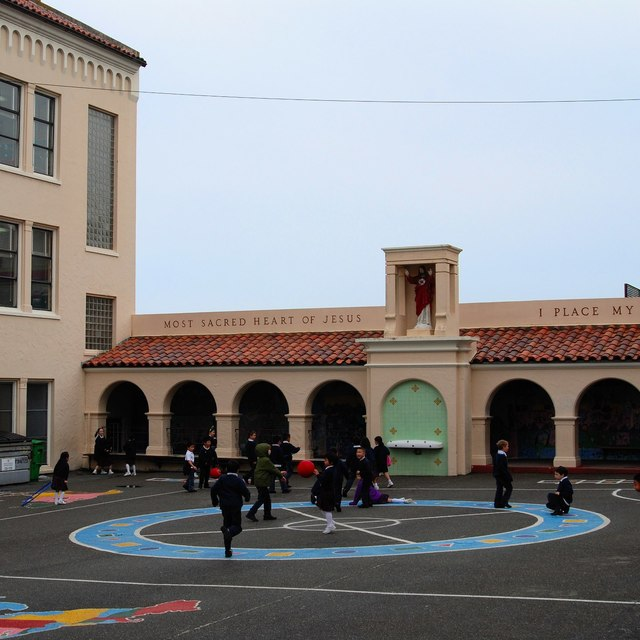 Holy Name School, San Francisco, CA logo