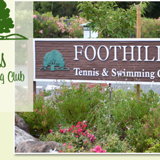 Foothills Tennis & Swimming Club, Palo Alto, CA logo