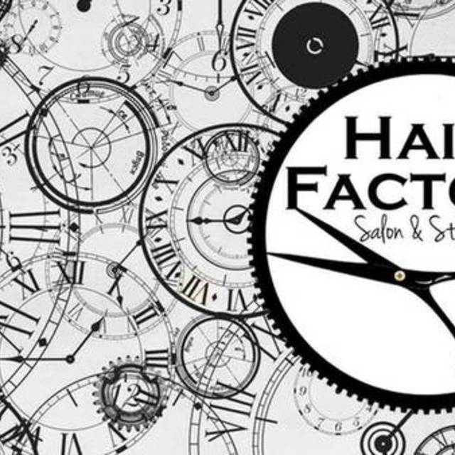 Hair Factory Salon & Studio, Oswego, IL logo