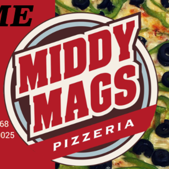Middy Mags Pizzeria, Glenview, IL logo