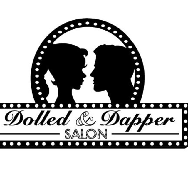 Dolled and Dapper Salon, San Francisco, CA logo