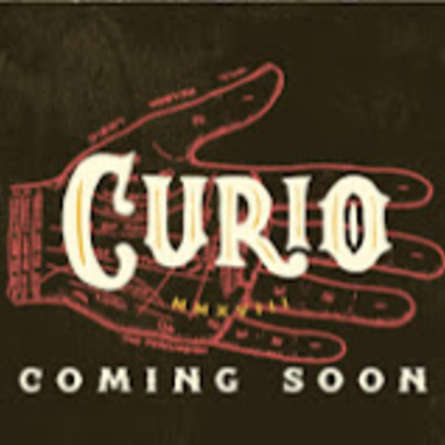 Curio Bar mission district, San Francisco, CA logo