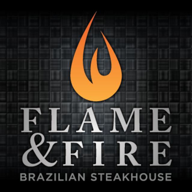 Flame & Fire Brazillian Steakhouse, Roseville, CA logo