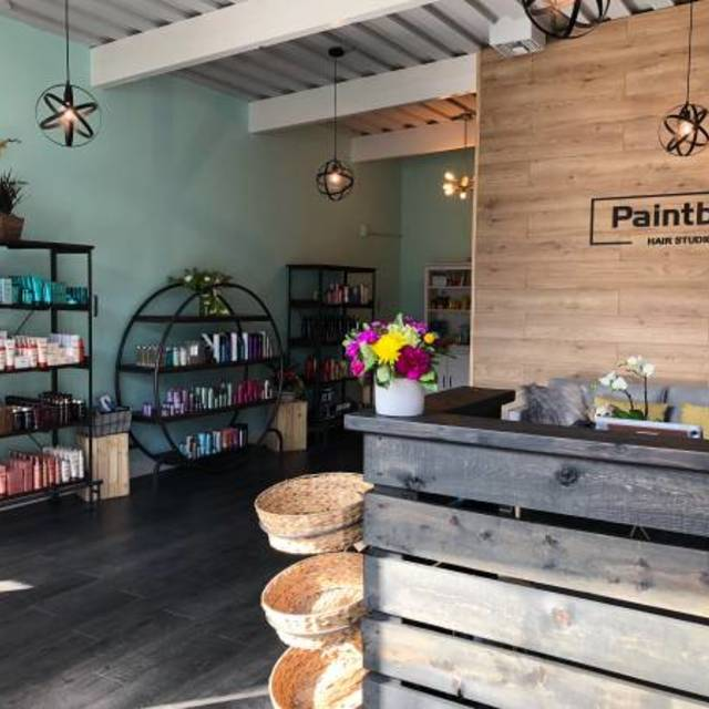 Paintbox Hair Studio, Saratoga, CA logo
