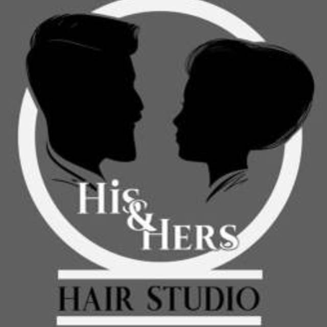 His and Her's Hair Studio, Stockton, CA logo