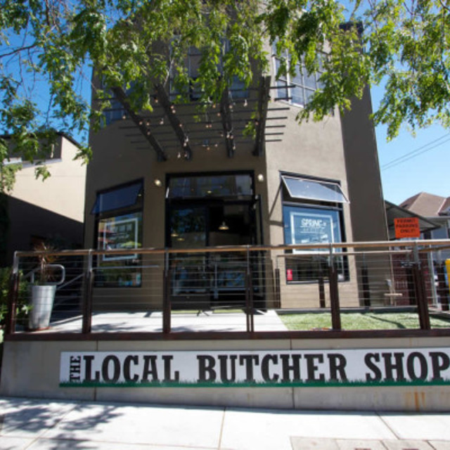 The Local Butcher Shop, Berkeley, CA logo