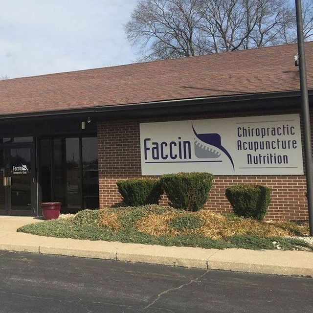 Faccin Chiropractic, Wood River, IL logo