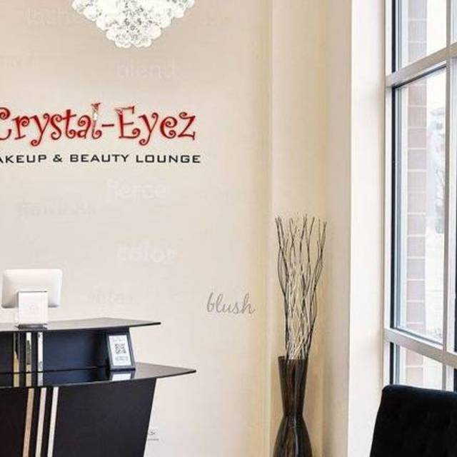 Crystal-Eyez Makeup & Beauty Lounge, Chicago, IL logo
