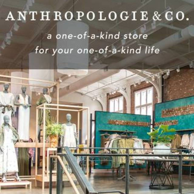 Anthropologie & Co. in the Stanford Shopping Center, Palo Alto, CA logo