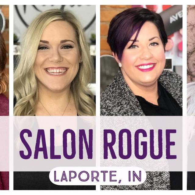 Salon Rogue, La Porte, IN logo