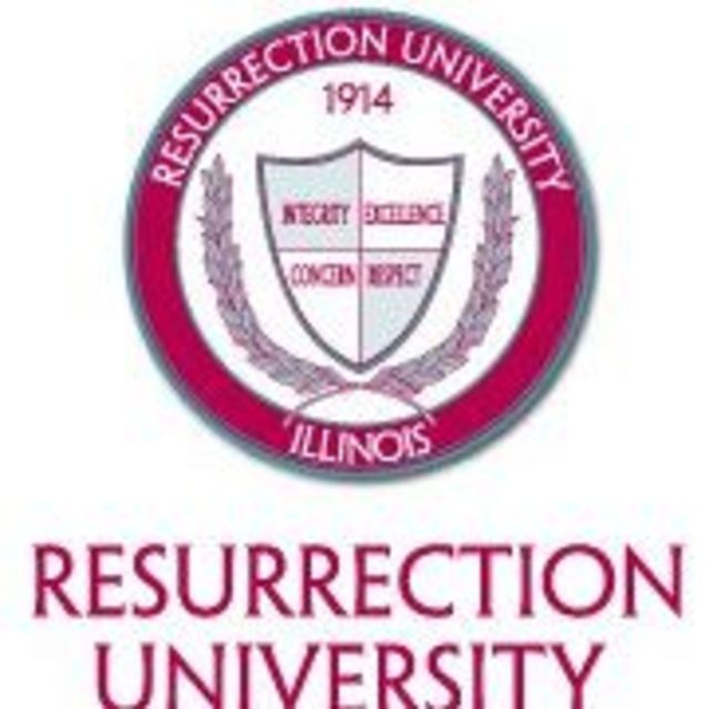 Resurrection University, Chicago, IL logo