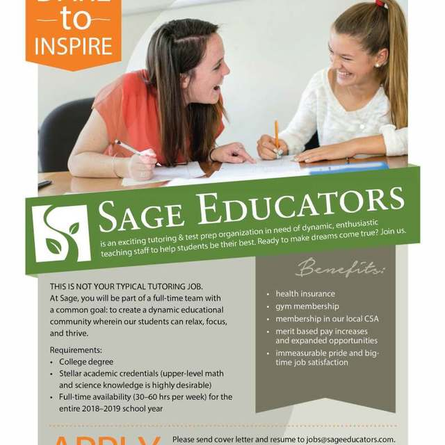 Sage Educators, Mill Valley, CA logo