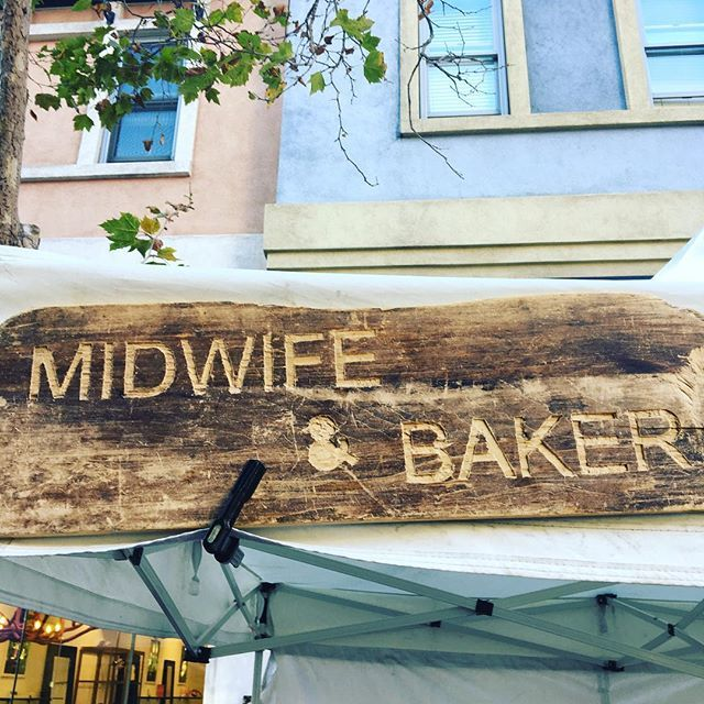 The Midwife & The Baker, Mountain View, Santa Clara County, CA logo
