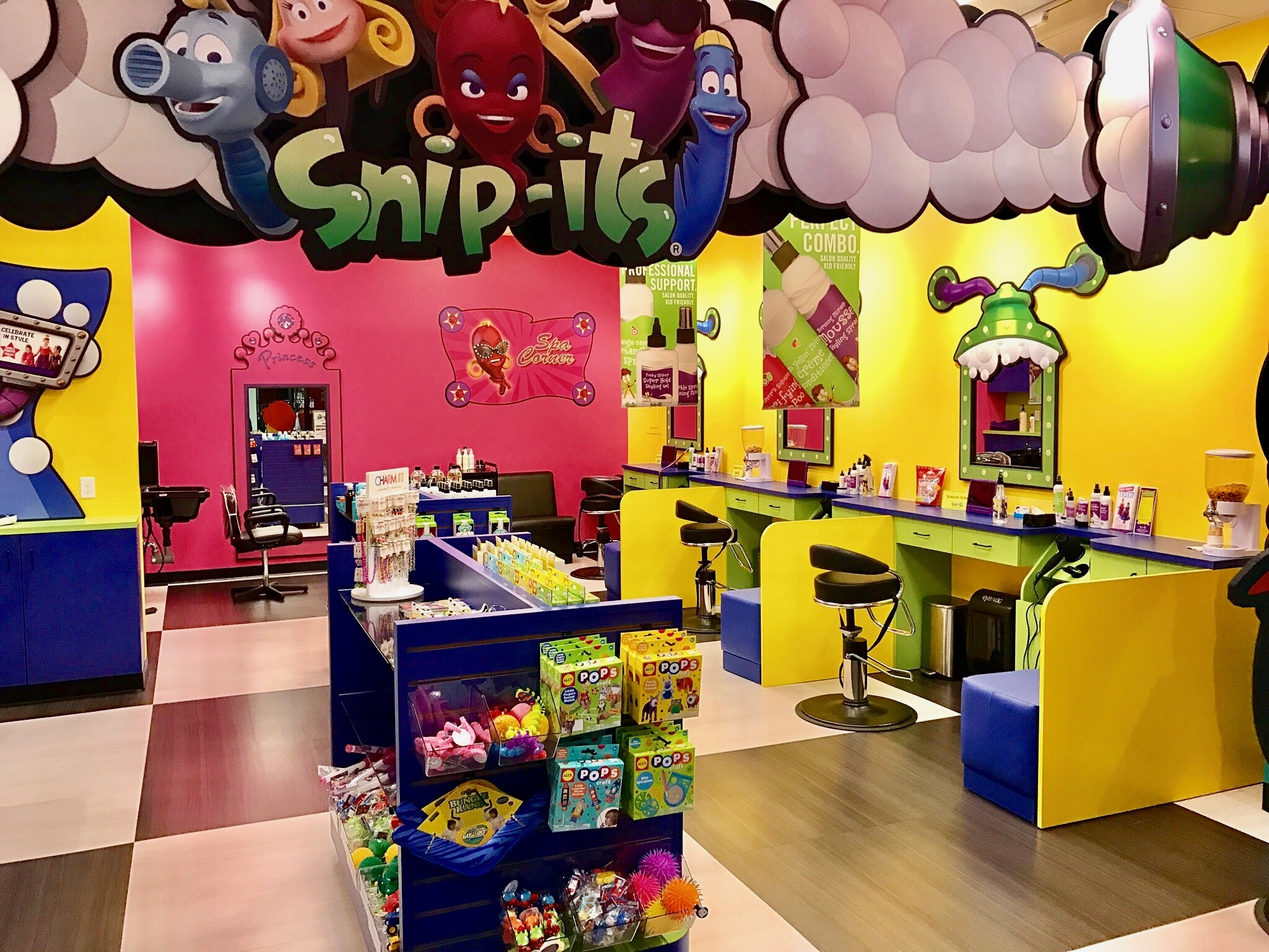 Snip Its Haircuts For Kids Is Hiring Kids Hair Stylist