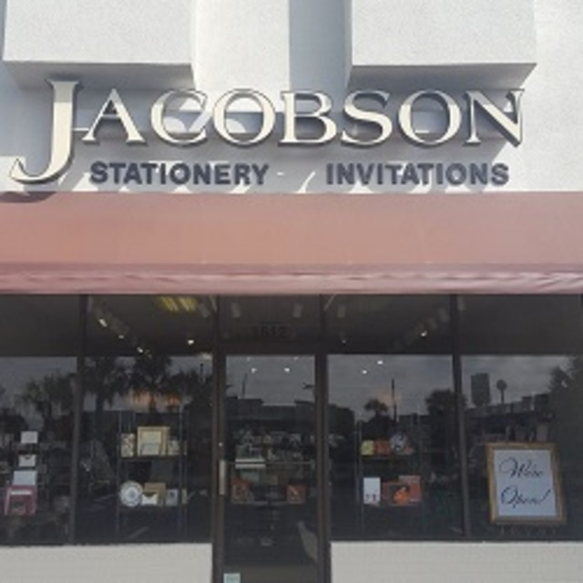 Jacobson Fine Papers & Gifts, Virginia Beach, VA logo