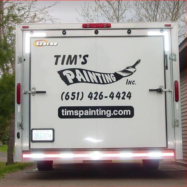 Tim's Painting Inc, Lake Elmo, MN logo