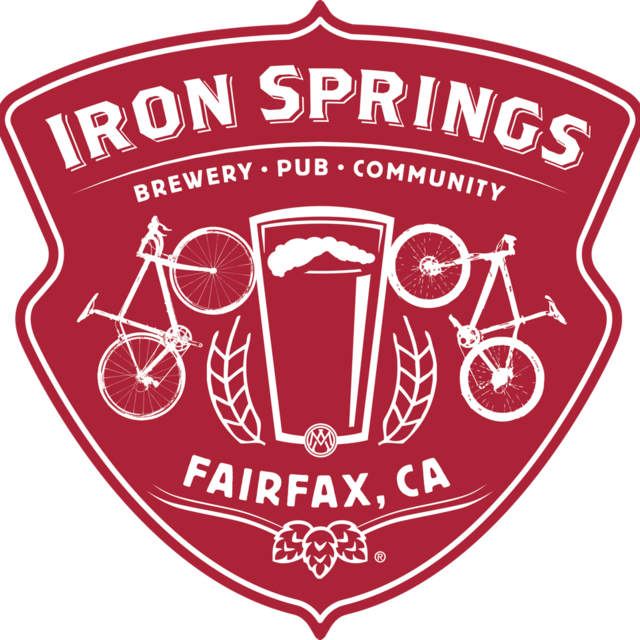 Iron Springs Pub & Brewery, Fairfax, CA logo