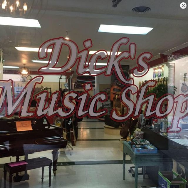Dick's Music Shop & The Downtown Emporium, Ironton, OH logo