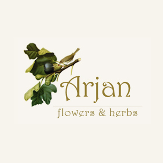 Arjan Flowers and Herbs, Oakland, CA logo