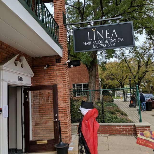 Linea Hair Salon & Day Spa, Glen Ellyn, IL logo