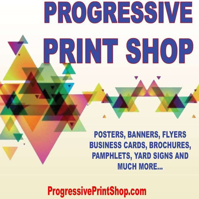 Progressive Print Shop, North Miami Beach, FL logo