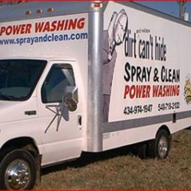 Spray And Clean, Madison Heights, VA logo