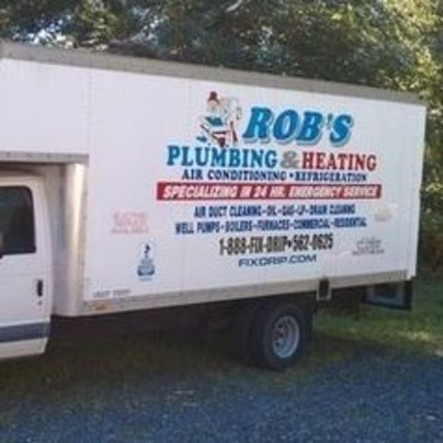 Rob's Plumbing & Heating, Newburgh, NY logo