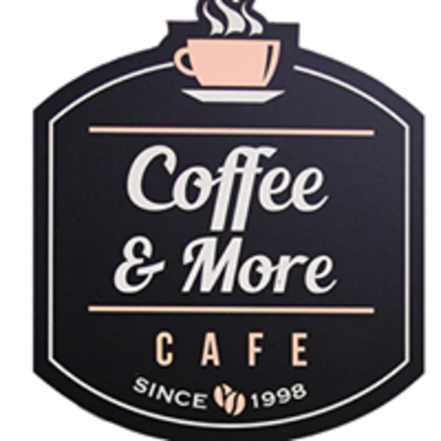 Coffee And More Cafe, Sunnyvale, CA logo