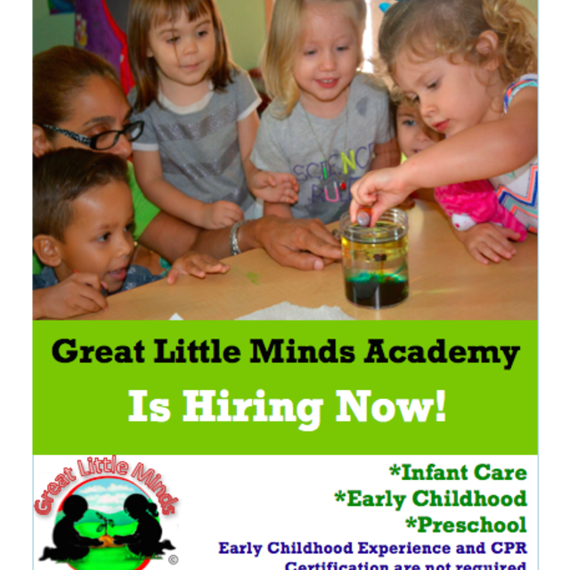 GREAT LITTLE MINDS ACADEMY, Houston, TX logo