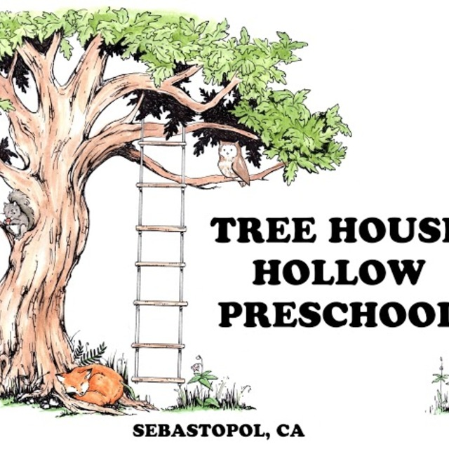 Tree House Hollow Preschool , Sebastopol, CA logo