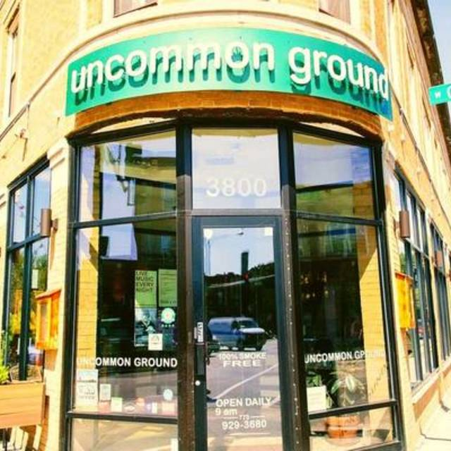 Uncommon Ground , Chicago, IL logo
