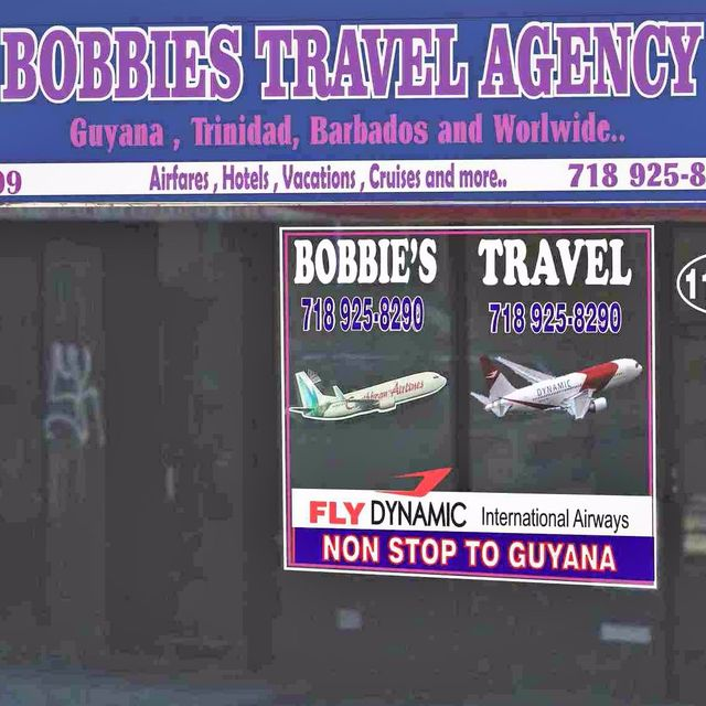 Bobbie's Travel Agency, Queens, NY logo