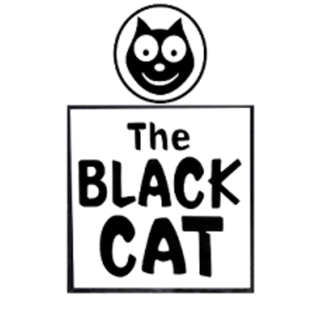 The Black Cat, los ang, CA logo
