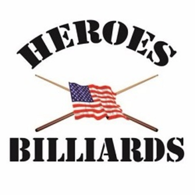 Heroes Billiards, Basehor, KS logo