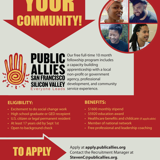 Public Allies Silicon Valley San Francisco, Milpitas, CA logo