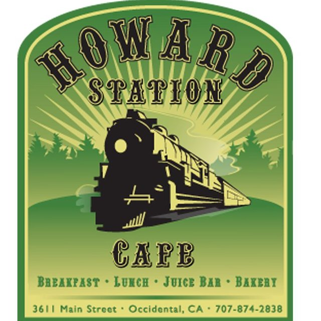 Howard Station Cafe, Occidental, CA logo