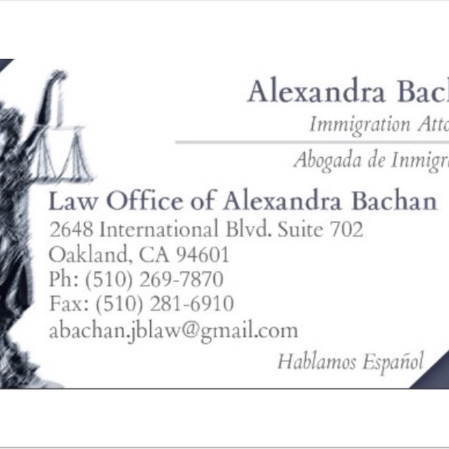 Law Office of Alexandra Bachan, Oakland, CA logo