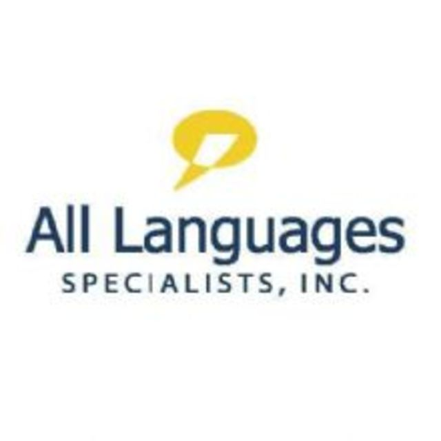 All Languages Specialists, Inc, Tampa, FL logo