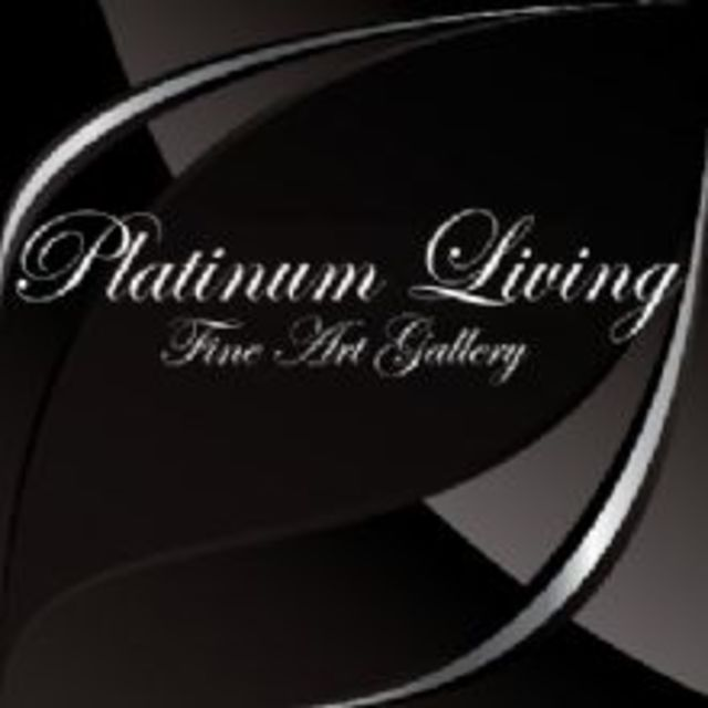 Platinum Living Fine Art Gallery, Noblesville, IN logo