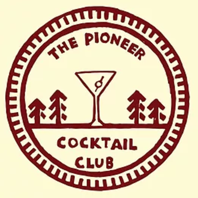 The Pioneer Cocktail Club, Tahoe City, CA logo