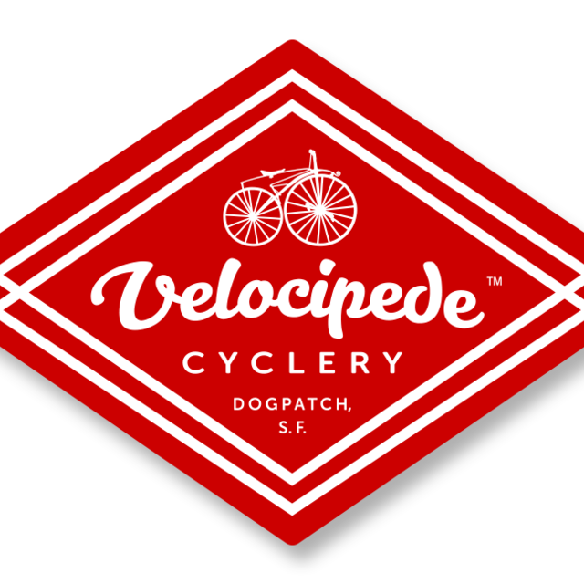 Velocipede Cyclery, San Francisco, CA logo