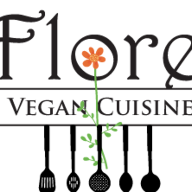Flore Vegan, Los Angeles, CA logo