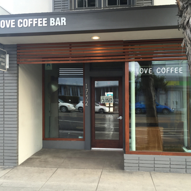 Love Coffee Bar, Santa Monica, CA logo